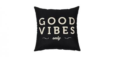 Good Vibes Only Home Decorative Throw Pillow